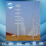línea de transmisión eléctrica galvanizada en baño caliente 110kv torre