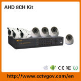 Комета 720p/960h High Definition 8CH Ahd DVR Kit с Bullet Dome Camera
