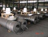 RP//HP/UHP Graphitelektrode für Lichtbogenofen und Raffinierungs-Ofen