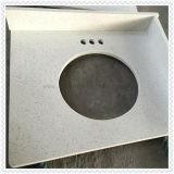 Quartz extérieur solide pour des partie supérieure du comptoir de cuisine (partie supérieure du comptoir en pierre artificielle)