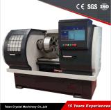 Máquina de la reparación del borde del torno Wrm28h del CNC de la rueda de la aleación del corte del diamante con la mejor calidad