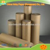 Camisa Kraft marrom para caixas de papelão de Papel China fornecedor com preço barato e de alta qualidade