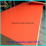 MDF da melamina para o uso da mobília