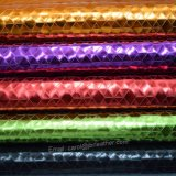Vereiteltes glattes PU-Leder, Form-Beutel-Leder, dekoratives Leatheroid