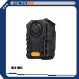 Appareil photo numérique sans fil imperméable à la mini taille sur support de police Enregistrement à un bouton