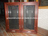 2012 Nouveau Style Design américain Main d'ouverture vers l'extérieur fenêtres en bois (TS-228)