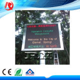 Для использования вне помещений P10 красный и зеленый светодиодный модуль, двухцветный дисплей P10 (CE и RoHS)