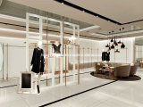 High-end Garments Showroom Display, Lady Clothing Shop Design d'intérieur, Store Display