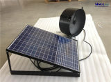 14inch 20Wの組み込み電池システム30W 9.6ah (SN2015012)が付いている壁のための太陽動力を与えられたアチックファン
