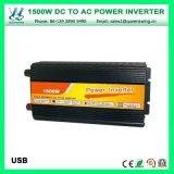 Micro invertitore modificato di potere di onda di seno di DC48V 1500W AC220/240V (QW-M1500)