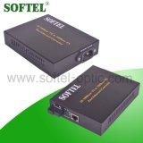 fibra ottica di 10/100/1000m al convertitore di media di Ethernet