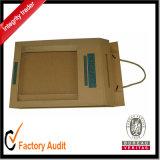 Aduana que empaqueta el rectángulo de regalo magnético del papel de la cartulina del encierro al por mayor, rectángulo de empaquetado, rectángulo del cartón (LP030)