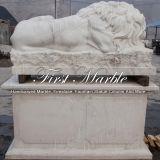 De Marmeren Leeuw van Carrara van Metrix voor Decoratie ma-1000 van de Tuin