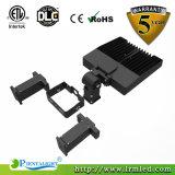 Dlc a reconnu la lumière commerciale Shoebox 150W de parking d'éclairage de DEL