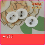 Poliestere White e ABS Combined Button (A-812)