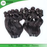 Capelli umani non trattati estratti doppio 100% molto Nizza di qualità dei capelli di Fumi dei capelli del Virgin