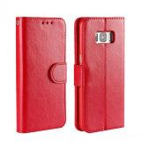 в случай Flip кожи PU iPhone 7, задняя сторона обложки Filp бумажника шлица кредитной карточки для кожи iPhone 7