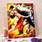 Portrait d'art de l'huile par des numéros de peinture numérique peinture huile sur toile