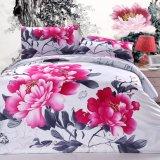 100% Algodón Imprimir conjunto de ropa de cama de inicio