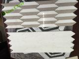 Nuevo mosaico de mármol blanco barato