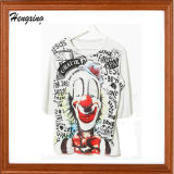 Le T-shirt d'impression de graffiti de clown