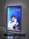Cuadro de LED transparente cristal de publicidad