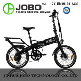 Jobo 20'' vélo électrique pliant avec Cruiser vélo électrique batterie masqué