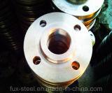 A105 forjou a flange parafusada rosqueada ANSI do aço de carbono de ASME