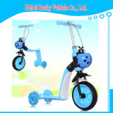 Самокат малышей Китая с проблескивая Bike самоката пинком ноги ребенка колеса