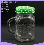 Sippin Maurer-trinkendes Glas mit Kappen