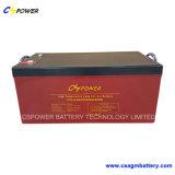 Batteria solare 12V135ah del gel a temperatura elevata del fornitore