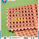 Блокируя резиновый циновка/цветастая резиновый циновка/циновка резины дренажа