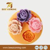 Blumen-Silikon-Schokoladen-Form der Küche-Ware-4PCS