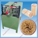 Toothpick automático de madera/de bambú que hace la máquina