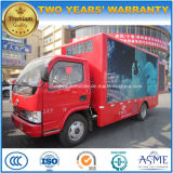 4X2 Carretilla de 5 toneladas de publicidad exterior del vehículo pantalla LED