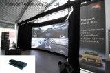 발광 다이오드 표시 Galaxias 경량 옥외 실내 유연한 LED 커튼