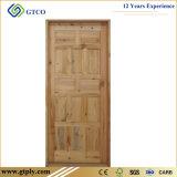 Дверь 100% сосенки природы твердая деревянная