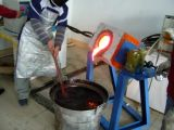 15квт Yuelon индукционного нагрева печи Melter алюминиевый завод с помощью потенциометра