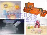 Máquina que arruga automática de la caja plástica