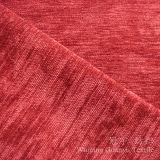 잎 패턴 소파를 위한 100%년 폴리에스테 털실 염색된 셔닐 실 직물