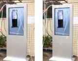 42, 43, 50, 55, 65, 70, Fußboden 84-Inch, der im Freienreklameanzeige LCD-Bildschirmanzeige-DigitalSignage steht
