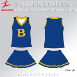 Robes fraîches de Cheerleading d'école de filles d'impression de Digital d'habillement de Healong Desing