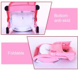 안전 벨트를 가진 아이를 위한 고품질 아기 어린이 식사용 의자 또는 승압기 시트