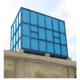 Покрынный эмалью стальной завод водоочистки контейнера воды цистерны с водой