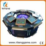 Macchina del casinò di gioco dello spingitoio della moneta con 8 giocatori