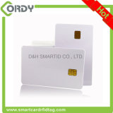 Branco branco ISO 7816 SLE5542 / SLE4442 Cartão de contato IC