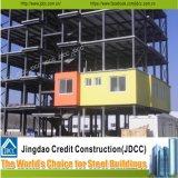 La estructura de acero del bajo costo de la ISO de China/prefabricó el edificio de la estructura de acero