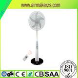 12V de elektrische Ventilator van de Tribune van gelijkstroom Navulbare Zonne