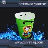Scomparto di rifiuti di disegno/cestino portatili personalizzati, cestino dell'immondizia