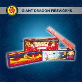 Fuochi d'artificio tenuti in mano fortunati degli Sparklers di buon compleanno